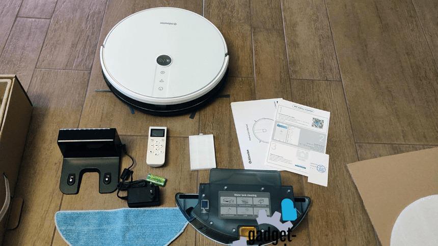 Alfawise V8S PRO E30B Smart Robot Vacuum Cleaner