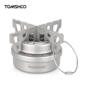 TOMSHOO Titanium Alcohol Stove