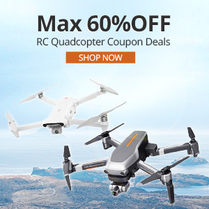 RC Quadcopter Coupon Deals, Max 60% OFF