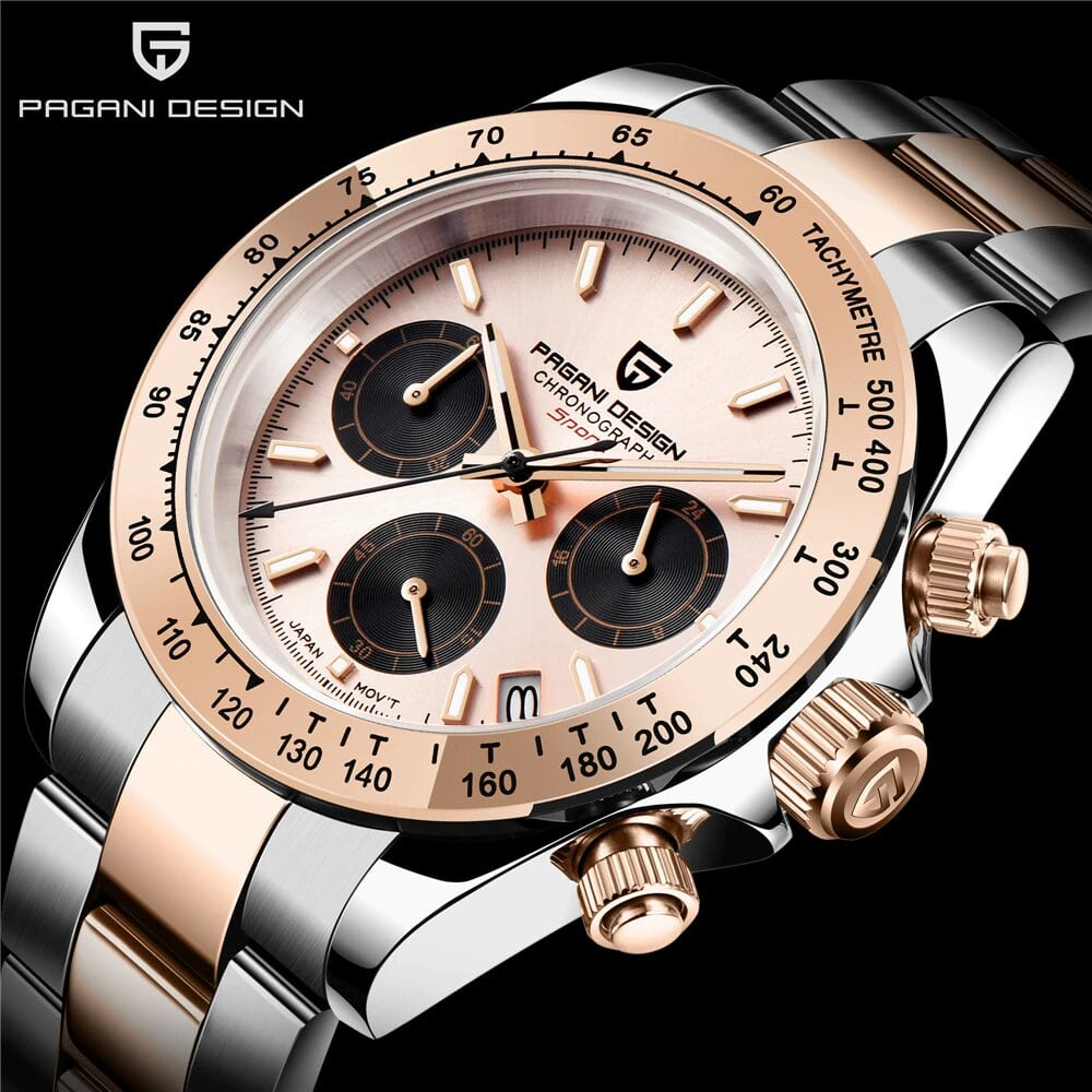 New 2020 BENYAR 40mm 10Bar PAGANI DESIGN Brand men's automatic watches Seiko Japan VK63