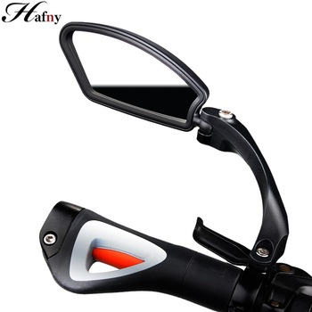Hafny Bicycle Stainless Steel Lens Mirror MTB Handlebar Side Safety Rear View Mirror