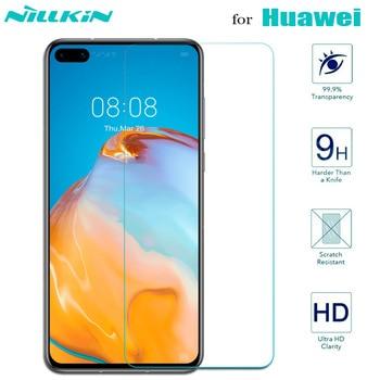 Tempered Protective Glass for Huawei P40 Lite E P30 P20 P10 Plus Mate 10 20 Lite Pro Nova 2 3 3i 2S Screen Protector Glass Film